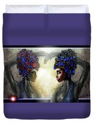 Twin Sisters Duvet Cover