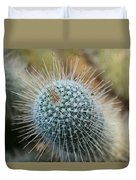 Twin Spined Cactus Duvet Cover