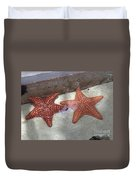 Twin Stars Duvet Cover