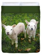 Twins - Spring Lambs Duvet Cover