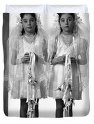 Twins First Communion 2 Duvet Cover