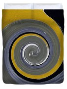 Twirl Yellow  Duvet Cover