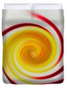 Twirled Cistus 1 Duvet Cover