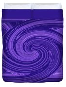 Twisted Blues Duvet Cover