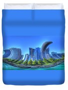 Twisted Chicago Skyline Duvet Cover