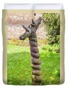 Twisted Giraffe - Colmar France Duvet Cover