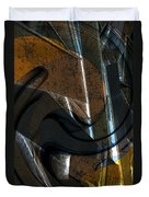 Twisted Metal Duvet Cover