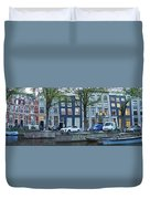 Twisted Panorama. Amsterdam Duvet Cover
