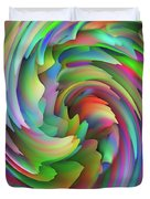 Twisted Rainbow 2 Duvet Cover