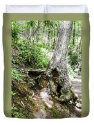 Twisted Tree Smoky Mountains Duvet Cover