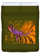 Twisted Waterlily Duvet Cover
