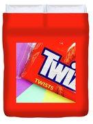 Twix Candy Duvet Cover