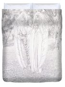 Two Angels, 1904  Duvet Cover