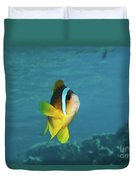 Two-banded Clownfish Duvet Cover