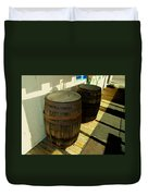 Two Barrels Duvet Cover
