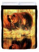 Two Bears Duvet Cover
