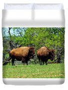 Two Buffalo Duvet Cover