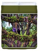 Two Buzzards In A Tree Duvet Cover