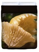 Two Cantharellus Duvet Cover