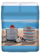 Two Chairs Duvet Cover