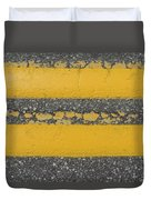 Two Country Yellow Duvet Cover