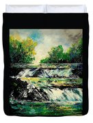 Two Falls Duvet Cover