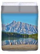 Two Jack Lake Duvet Cover