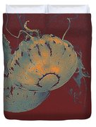 two Jelly fish Duvet Cover