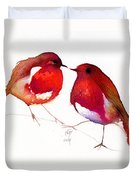 Two Little Birds Duvet Cover
