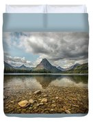 Two Medicine Lake Duvet Cover