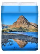 Two Medicine Reflections Duvet Cover