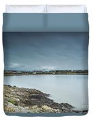 Two Minutes At Barry Island Duvet Cover