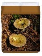 Two Mushrooms Duvet Cover