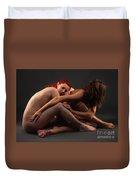 Christiana And Ciara - 4 Duvet Cover