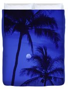 Two Palms Duvet Cover