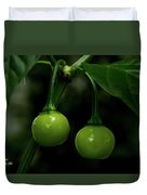 Two Peppers Duvet Cover