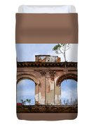 Two Picture Windows Duvet Cover