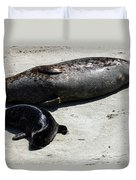Two Seals Duvet Cover