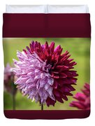 Two Sides Of Dahlia  Duvet Cover