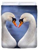 Two Swans Duvet Cover
