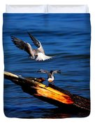 Two Terns A Tango Duvet Cover