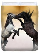 Two To Tango Duvet Cover