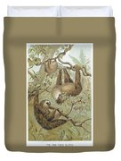 Two-toed Sloth Duvet Cover