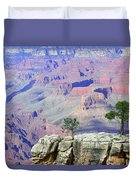 Two Tree Rock Duvet Cover