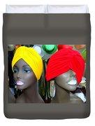 Two Turbans Duvet Cover