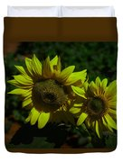 Two Yellow Beauties  Duvet Cover