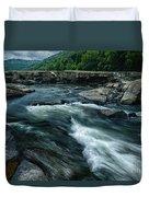 Tygart Valley River Duvet Cover