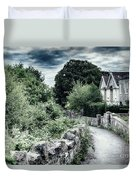 typical old English village Duvet Cover by Ariadna De Raadt