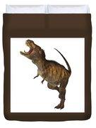Tyrannosaurus Rex Profile Duvet Cover