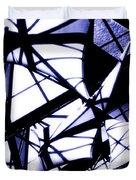 U Of W Hospital Atrium Flags Duvet Cover